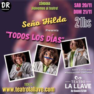 SEÑO HILDA, presenta: Todos Los días